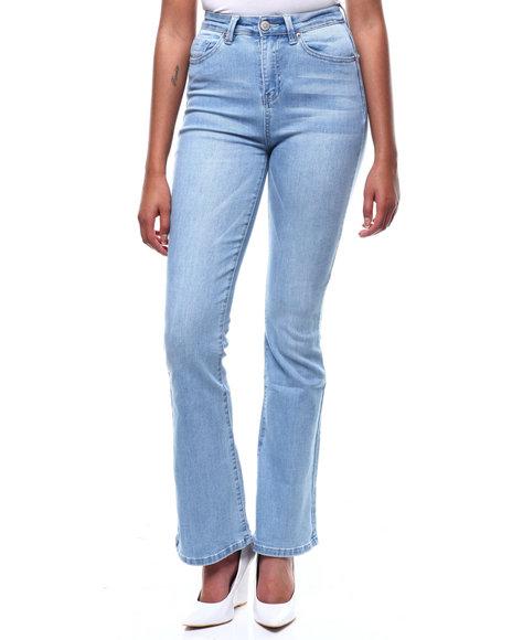 SECRETS - Hi Rise Wide Leg Jeans