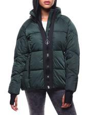 Womens-Winter - Short Nylon Puffer/Hidden Hood-2288038