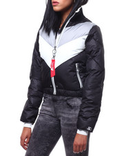 Womens-Winter - Logo Back Down Jacket-2288008