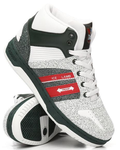TROOP - Troop Ice Lamb Mid Sneakers