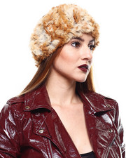 Fashion Lab - Sheared Rabbit Fur Headband-2285222