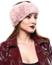 Accessories - Sheared Rabbit Fur Headband-2285207