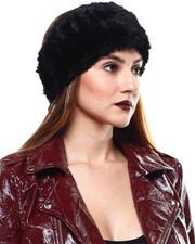 Accessories - Sheared Rabbit Fur Headband-2285216