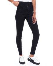 SECRETS - 4 Button Hi Rise Stacked Waist Skinny Jean-2286436