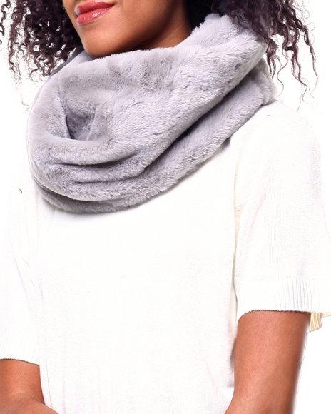 Fashion Lab - Twisted Faux Fur Ring Scarf