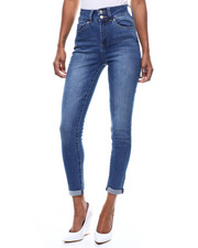 SECRETS - 2 Button 5 Pocket Roll Cuff Jean-2286489