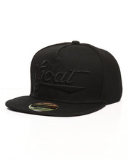BLACKJACK - The Goat Flatbrim Snapback Hat-2285978
