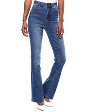 Women - Hi Rise Wide Leg Jeans-2286643