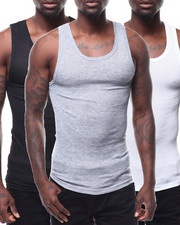 Loungewear - 3 Pack Thermal Tank Tops-2288023