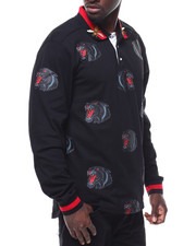 Polos - L/S Embroidered Panther Polo-2287549