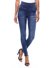 SECRETS - Hi Rise Stacked Waist Zip Side Skinny Jean-2286427