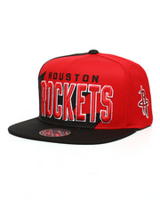 Mitchell & Ness - Houston Rockets Shark Tooth Snapback Hat-2285973