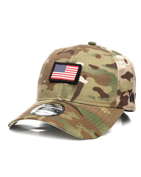 New Era - 9Twenty Country Camo USA Strapback Cap