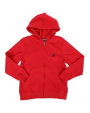 Nautica - Fleece Hoodie (8-20)-2287308