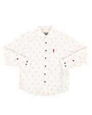 Tops - Chili Pepper Woven Shirt (8-20)-2286821
