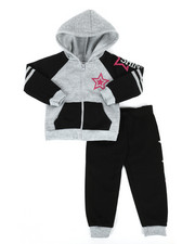 Sizes 2T-4T - Toddler - 2 Piece Fleece Jogger Set (2T-4T)-2284130