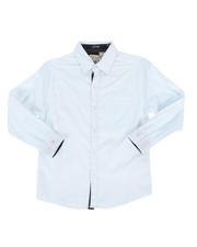 Tops - Geo Print Woven Shirt (8-20)-2286355