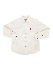 Button-downs - Woven Shirt w/ Graphic Print (8-20)-2286816