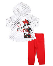 Disney/Sesame Street - 2 Piece Hooded Fleece Set (Infant)-2286796