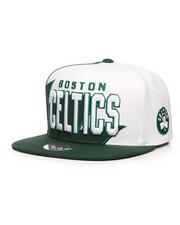 NBA, MLB, NFL Gear - Boston Celtics Shark Tooth Snapback Hat-2285974