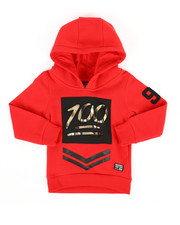 Hoodies - Embossed Metallic Fleece Hoodie (2T-4T)-2286898