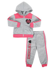 Sizes 2T-4T - Toddler - 2 Piece Fleece Jogger Set (2T-4T)-2284138