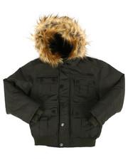 Outerwear - Bomber Parka Jacket (8-20)-2287012