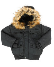 Outerwear - Bomber Parka Jacket (4-7)-2287054