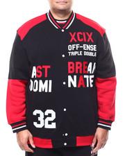 Akademiks - Varsity Baseball Jacket (B&T)-2288654