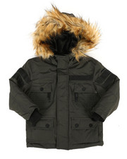 Outerwear - Hooded Parka Jacket (4-7)-2287245