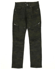 Pants - Moto Stitches Double Zip Pants (8-20)-2288573