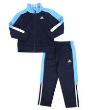 Adidas - 2 Piece Paramount Tricot Track Set (4-7X)-2286368