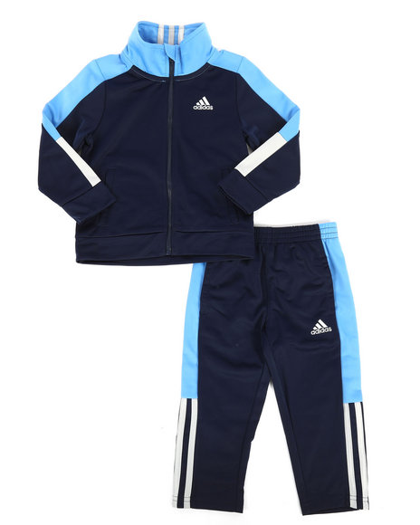 Adidas - 2 Piece Paramount Tricot Track Set (2T-4T)