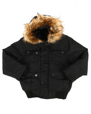 Outerwear - Bomber Parka Jacket (8-20)-2287067