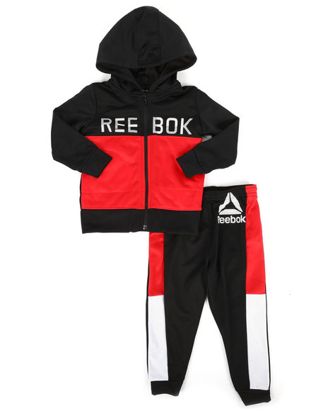 Reebok - Color Block 2Pc Track Set (2T-4T)