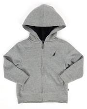 Boys - Nautica Fleece Hoodie (4-7)-2288210