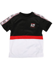 Born Fly - Color Block Poly Tee w/ Taping (4-7)-2288410