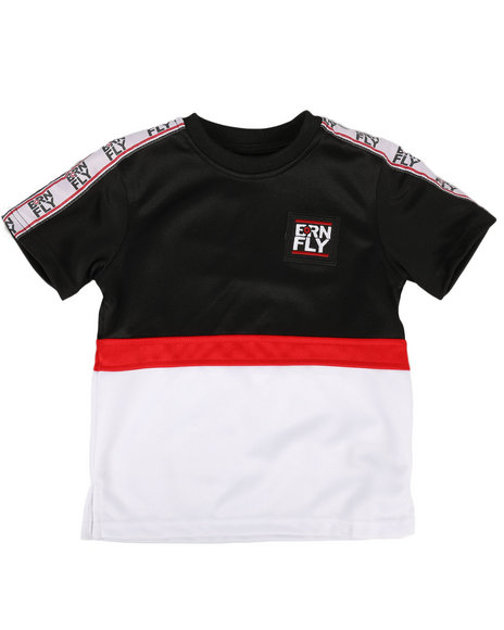 Born Fly - Color Block Poly Tee w/ Taping (4-7)