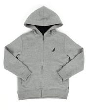 Hoodies - Nautica Fleece Hoodie (8-20)-2288215