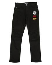 Born Fly - Stretch Black Twill Pants (8-20)-2288469