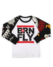 Born Fly - Long Sleeve Raglan Tee (4-7)-2288395