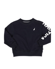 Sweatshirts & Sweaters - Nautica Logo Pullover (4-7)-2287465