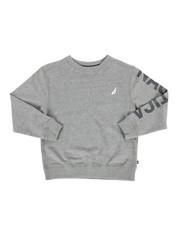 Sweatshirts & Sweaters - Nautica Logo Pullover (8-20)-2287624