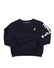 Sweatshirts & Sweaters - Nautica Logo Pullover (2T-4T)-2287576