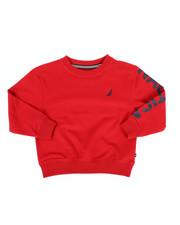 Boys - Nautica Logo Pullover (4-7)-2287544
