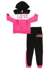 Sizes 7-20 - Big Kids - 2 Piece Fleece Jogger Set (7-16)-2284146