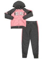 Sizes 7-20 - Big Kids - 2 Piece Fleece Jogger Set (7-16)-2284150