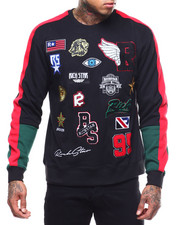 Rich Star - RS PATCH VARSITY Sweatshirt-2288906