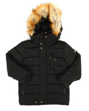 Sizes 4-7x - Kids - Hooded Parka Jacket (4-7)-2286984
