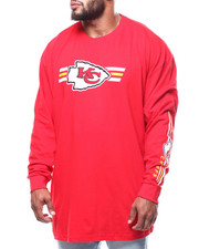 Champion - Chiefs L/S 2 Hit Tee (B&T)-2288810
